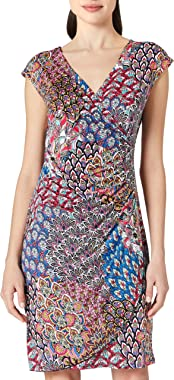 Morgan Robe en Maille Imprimée Rpaon Casual Dress Femme