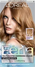 L'OrÃal Paris Feria Multi-Faceted Shimmering Permanent Hair Color, 73 Golden Sunset (Dark Golden Blonde), Pack of 1 kit Hair Dye