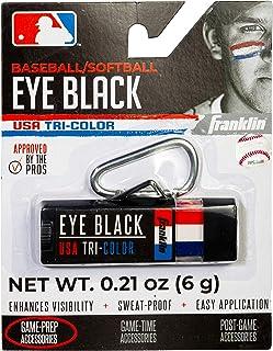 Franklin Sports MLB Eye Black - Glare Reduction Eye Black For All Athletes - Baseball Eye Black or Softball Eye Black - Eye Black Paint for Kids, Adults, Athletes, Baseball, Softball Players