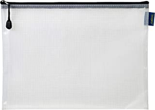 CELCO Thick A4 Clear Mesh Pencil Case, (0398890)