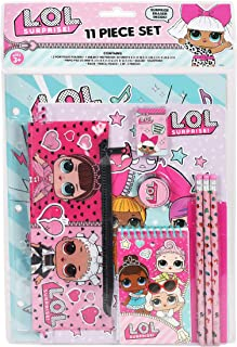 L.O.L. Surprise! LOL Stationery Set School Supplies for Girls/11 Piece, Gold