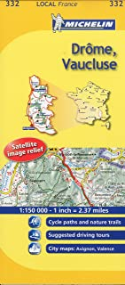 Drôme, Vaucluse (Maps/Local (Michelin)) (English and French Edition)