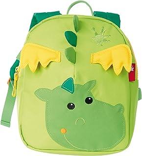 Mädchen und Jungen, Mini Rucksack, Motiv Drache, Grasgrün/Grün, 24216