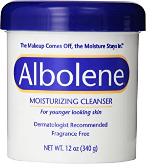 Albolene Moisturizing Cleanser Fragrance Free 12 oz (Pack of 2)