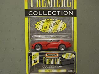 Matchbox Dodge Viper RT/10 (Red) Premiere Series 4 #34363-2