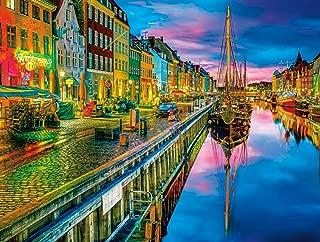 Buffalo Games - Cities in Color - Copenhagen - 750 Piece Jigsaw Puzzle