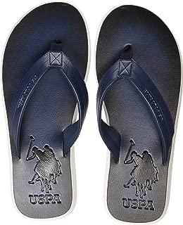US Polo Association Men's Kafa Flip Flops Thong Sandals