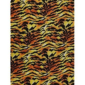 "Black Pink Leopard Animal Print Poly Spandex Fabric 58/"" Width 4 way stretch"