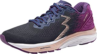 361 Degrees Women's Spire 3 High Performance and Mileage Lightweight Running Shoe, Peacoat/Phlox, 11N