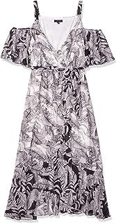 Sangria womens Plus Size Cold Shoulder Maxi Dress Special Occasion Dress