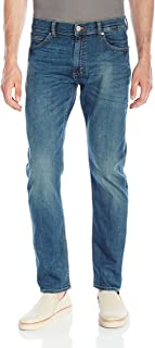 Lee 男式 现代系列修身锥形腿牛仔裤