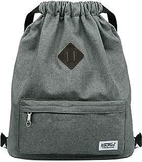 Drawstring Sports Backpack Gym Yoga Sackpack Shoulder Rucksack for Men and Women