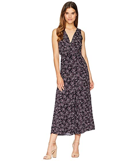 Jack By Bb Dakota Swish Swish Deep Blue Ditsy Printed Rayon Crepe