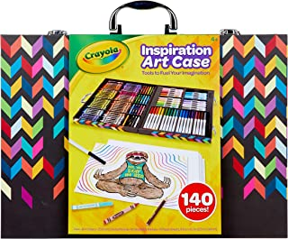 Crayola Imagination Inspiration Art Case 140Piece, Art Set, Gifts for Kids, Age 4, 5, 6, 7 (Styles May Vary)