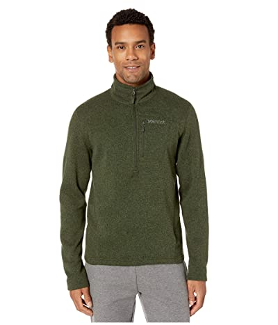 Marmot Drop Line 1/2 Zip (Rosin Green) Men