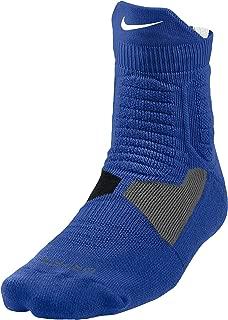 Hyper Elite Cushioned High Quarter Basketball Socks, Youth 3Y-5Y