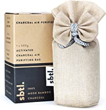 stbl. All Natural Activated Moso Bamboo Charcoal Air Purifying Standing Bag | Deodorizer, Freshener, Odor Eliminator, Odor Absorber 500g
