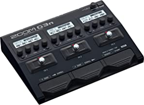 Zoom G3n Guitar Multi-Effects Processor Pedal, With 70+ Built-in effects, Amp Modeling, Stereo Effects, Looper, Rhythm Sec...