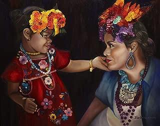My Beautiful Mama Barbara Rivera Original Artwork Print