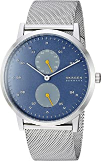 Men's Kristoffer Multifunction Stainless Steel Casual Quartz Watch