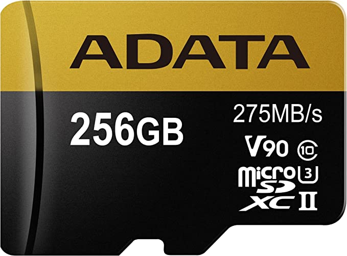 Adata Micro Sdxc Uhs 1 U3 Ii 256gb Premier One Computers Accessories