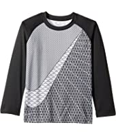 Nike Kids - Swoosh Dri-FIT Raglan Tee (Little Kids)