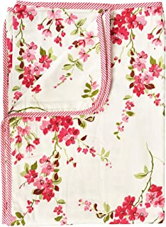"KUKOON Soft Cotton Baby Blanket AC Quilt dohar for Summer 38 x 57"" inch for Newborn to 3 Year Child Perfect Baby Shower Gift Unisex Baby boy or Baby Girl (Pink)"