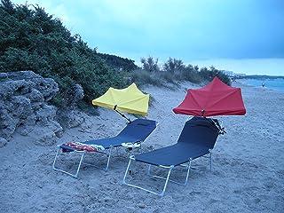 Viaje ligero sombrilla SOLAR Motor + USB ventilador–con imán para montaje de solar + batería–5VOLT-1000mAh + adaptador para móvil carga–fuerte imanes para montaje en paraguas fundas–la innovación MADE in GERMANY–Holly productos STABIELO–Holly sunshade-