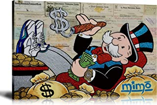 ALEC Monopoly HD Printed Oil Paintings Home Wall Decor Art On Canvas ALEC The Rainmaker 24x36inch Unframed