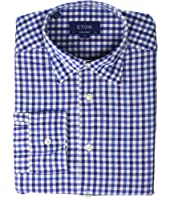 Eton - Contemporary Fit Cotton/Linen Check