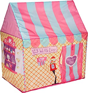 Mumoo Bear Kids Play Tent Girls Pink Princess Castle Portable Playhouse Outdoor Play Children's Party Tents