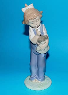 Nao by Lladro Collectible Porcelain Figurine: HUSH - 7 1/4