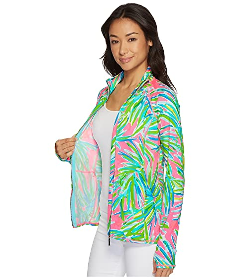 c298dd7f027c6a Serena Pulitzer Lilly Royal Lime Luxletic Chaqueta Sunset Pink SE7dHw