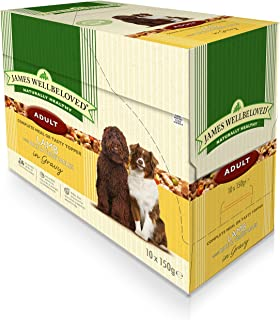 James Wellbeloved Adult Pouch Lamb With Rice And Vegetables 10 Pouchesx 150 G