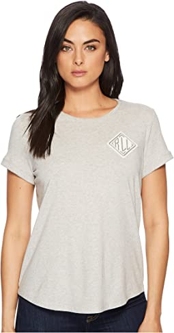 LAUREN Ralph Lauren Bullion-Embroidered Jersey T-Shirt