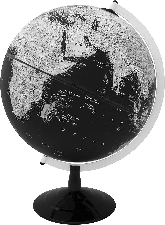 Replogle Barrow Moderner Designer Serie Serie Serie Schwarz Ocean World Globe, hochgestelltes Relief, Entworfen für Modernes Decor (30,5 cm 30 cm Durchmesser) B077YW2133 | Erste Qualität  8f350a