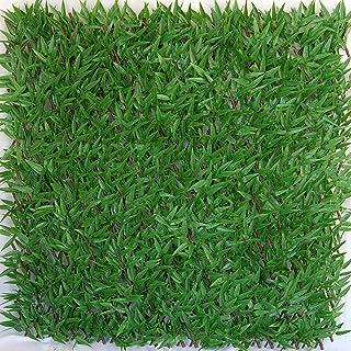 Tenax - Seto Artificial con Hojas entrelazadas Extensibles de Sauce, Divy 3D X-Tens Bamboo, 1 x 2 m, Verde