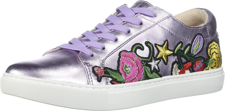 Kenneth Cole New York York Woherren Kam 10 Floral Embroiderot Lace-up Turnschuhe, Lavender, 7 M US  für Ihren Spielstil zu den günstigsten Preisen