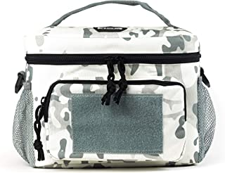 HSD Lunch Bag - Insulated Cooler, Lunch Box with MOLLE/PALS Webbing, Adjustable Padded Shoulder Strap, for Adults and Kids
