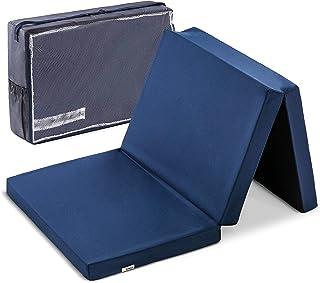 Hauck Sleeper 60 x 120 cm, colchón de espuma 6cm de grosor, para cunas de viaje, plegable en 3 partes, incluida bolsa de t...