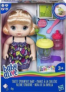 Baby Alive Sweet Spoonfuls - Muñeca Rubia