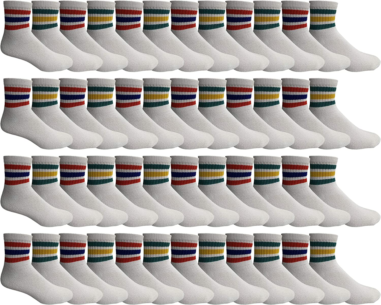 2021 model Yacht Smith Men Wholesale Cotton Sport Ankle Sock Max 49% OFF Athletic Mid