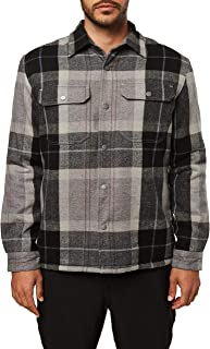 Men's Heavy Weight Flannel Shirt Jacket