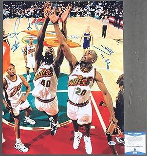 2b83e434c8494 Amazon.com: NBA - Seattle SuperSonics / Basketball: Collectibles ...
