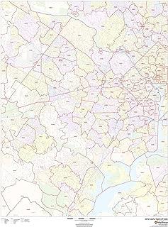 Fairfax County, Virginia Zip Codes - 36