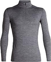 Icebreaker Merino Mens 200 Oasis Merino Wool Base Layer Long Sleeve Half Zip