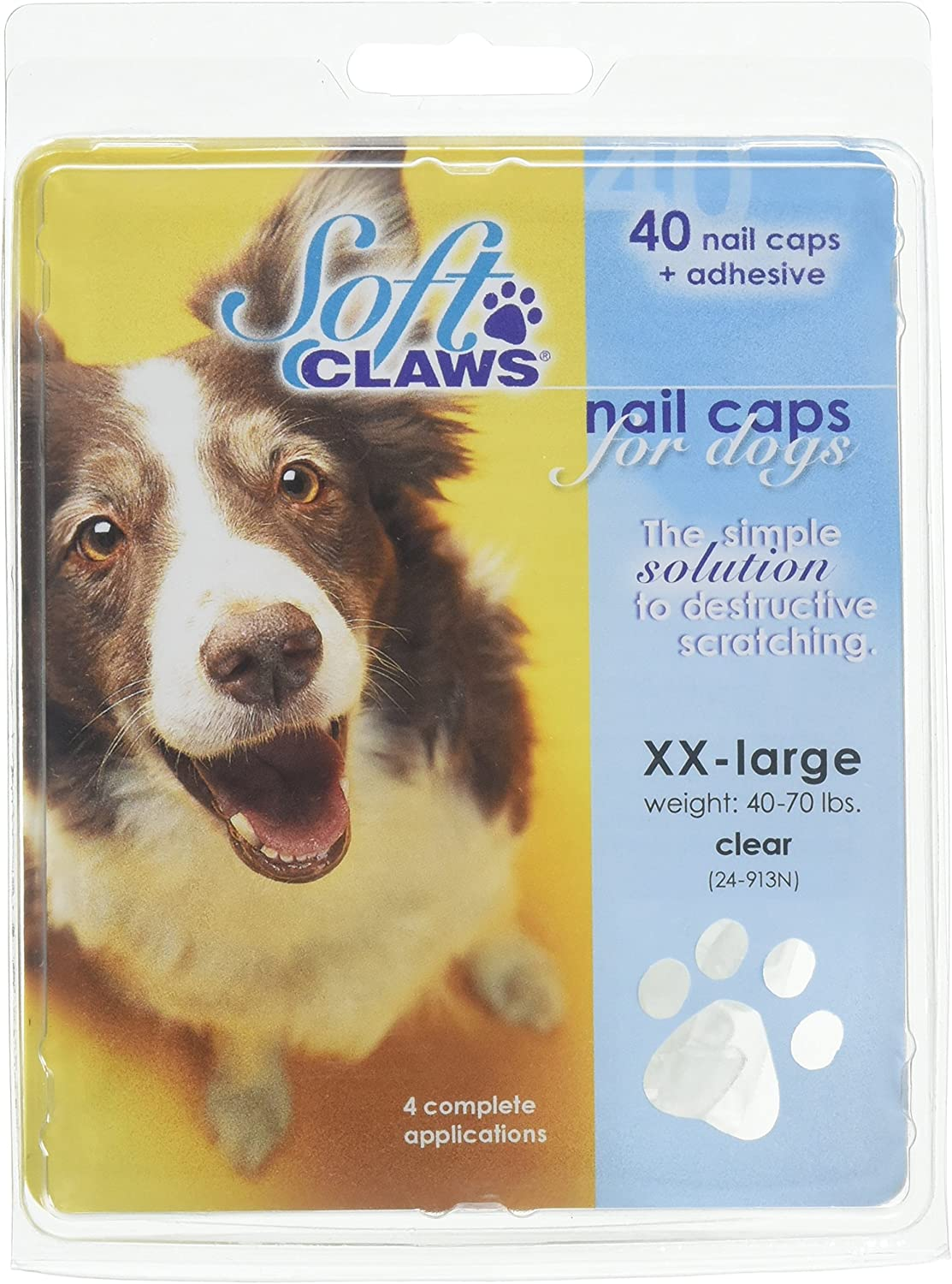 Soft Claws Dog Nail Caps XX-Large Home Mail overseas order Kit Take Natural