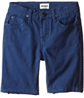 Hudson Kids - Stretch Twill Five-Pocket Shorts in Treasure Indigo (Toddler)