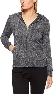 Bonds Women's Textured Logo Zip Hoodie
