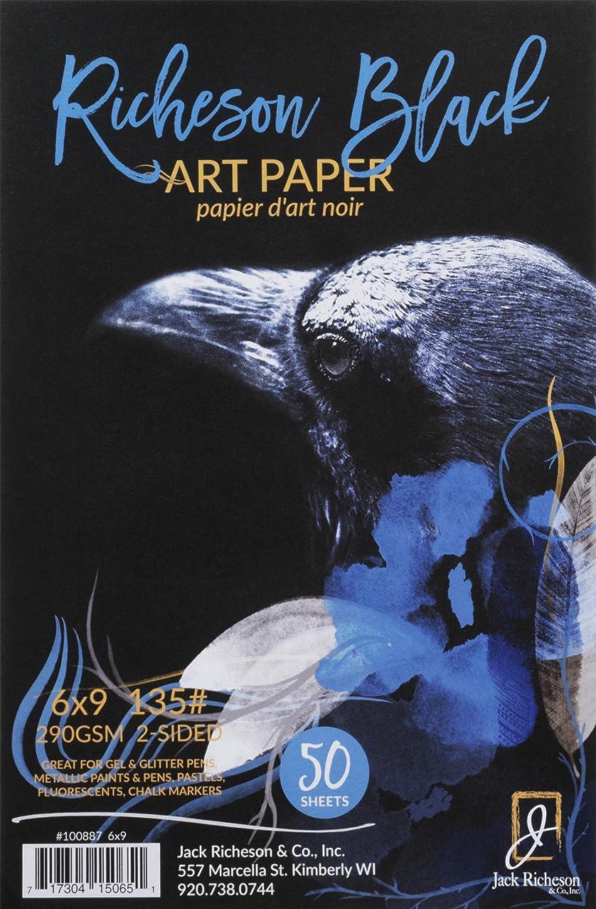 Jack Richeson Black 135# Art Paper 6